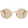 VERSACE round aviator sunglasses - Sunglasses -