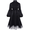 VESTIDO black gothic dress - Vestiti -