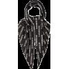 VETEMENTS Logo-print silk-satin scarf - Šalovi -