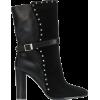 VIA ROMA 15 studded ankle boots - Škornji -