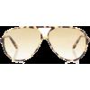 VICTORIA BECKHAM Aviator sunglasses - Sunglasses -