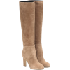 VICTORIA BECKHAM Suede over-the-knee boo - Buty wysokie -