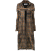 VICTORIA BECKHAM long tweed coat - Giacce e capotti -