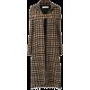VICTORIA BECKHAM long tweed coat - Jacket - coats -
