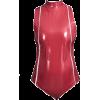 VINYL BODYSUIT - Underwear -