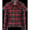 VIVETTA red & black tartan jacket - Jacket - coats -