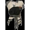VIVIENNE WESTWOOD burgundy beige sweater - Maglioni -