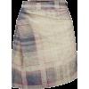 VIVIENNE WESTWOOD tartan skirt - Suknje -