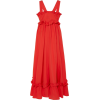 Valentina Cotton Ruffled Maxi Dress - Vestiti -