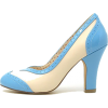 Valentine Belle Blue - Classic shoes & Pumps - $72.00
