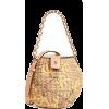 Valentine Spring Flowers Mini Woven Buck - Hand bag -