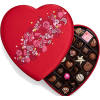 Valentine's Day Fabric Heart Chocolate G - Food -