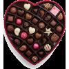 Valentine's Day Fabric Heart Chocolate G - Lebensmittel -