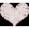 Valentine's. Hurts. Pink. Red - Illustrations -