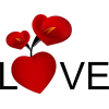 Valentines - 插图用文字 -
