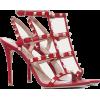 Valentino ROCKSTUD CALFSKIN ANKLE STRAP - Sandals - $1.05