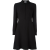 Valentino Red Black Dress - sukienki -