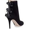 Valentino Triple Bow High Heel Bootie - Boots -