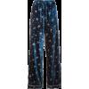 Valentino pyjama pants - Calças capri -