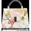 Valextra Mignon Iside Kimono Bag - Torbice -