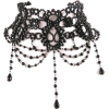 Black - Necklaces -