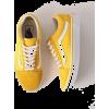 Vans Old Skool Ochre & White Skate Shoes - Superge -