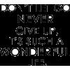 Wonderful life - Texts -