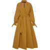 Martin Grant Belted Pleated Crepe Trench - Jacket - coats -