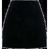 Velvet Skirt - スカート -