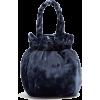 Velvet Bucket Bag - Torbice -