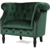 Velvet Club Chair - Uncategorized -