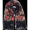 Velvet Puffer Coat RACHEL PARCELL - Scarf -