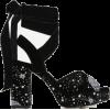 Velvet sandals by Zara - Sandals -