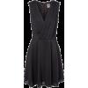 Vero Moda black dress - Vestidos -