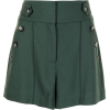 Veronica Beard side button shorts - Calções -