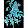 plavi cvijet - Plants -
