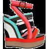 Versace For H&M Crusie Lookboo - Ballerina Schuhe -