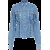 Versace Light Wash Denim Buttoned Shirt - 長袖シャツ・ブラウス -