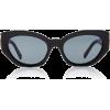 Versace Medusa Cat-Eye Acetate Sunglasse - Sunglasses -