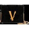 Versace Virtus Crystal Evening Shoulder - Clutch bags -