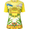 Versace logo print T-shirt - Yellow & Or - Tシャツ - 420.00€  ~ ¥55,037