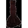 Vestido vermelho e glamouroso - Dresses -