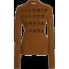 Victoria Beckham Argyle-Cutout Ribbed-Kn - Swetry -