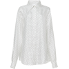 Victoria Beckham Polka Dot Pointed Colla - Long sleeves shirts -