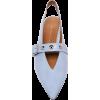 Victoria Beckham Punky Studded Buckled P - Flats -