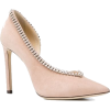 View the look JIMMY CHOO pink Lilian 10 - Scarpe classiche -