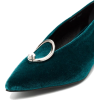 View the look YUUL YIE peacock green 30 - Flats -