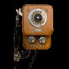 Vintage Wall Phone - Items -
