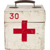 Vintage French first aid kit - Items -