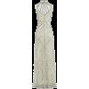 Vintage Gray Maxi Dress - Dresses -